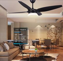 "$enCountryForm.capitalKeyWord Canada - American vintage 52"" fan light ceiling chandelier fans modern minimalist living room dining room ceiling chandelier fan LED lamp controller"