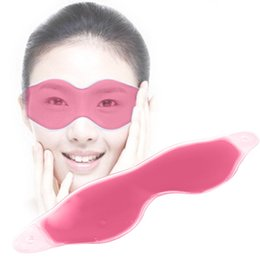 Masque De Sommeil Cernes Pas Cher-Ice Compress Gel Eye Care Eye Shield Sleep Mask Eyeshade Masque de sommeil Blindfold Mascara Removal de cercles noirs