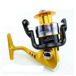 Bait Rods Canada - Fishing Reels YB2000-5000 Series Metal Spinning Reel Ocean Lure Rod 13 Bearing Seamless Metal Wire Cup