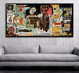 Hipster Painting NZ - Framed Pure Handpainted Graffiti Art oil painting Hipster, Home Wall Art Decro On High Quality Thick Canvas Multi sizes
