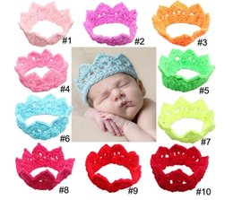 $enCountryForm.capitalKeyWord Canada - Infant Headband Headbands for girls Baby headbands Baby bonnet Party Crown Children Hairband 14 colors Hair Accessories XM 020