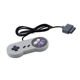 SNES NES Sistem Konsolu Kontrol Pad ücretsiz gönderim için Süper Toptan-1pcs 16 Bit Kontrolör
