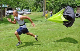 Vente en gros Le parapluie de résistance d'entraînement de vitesse Mouvement réglable exécutant un parapluie Football formation résistance force parapluie parapluie vitesse