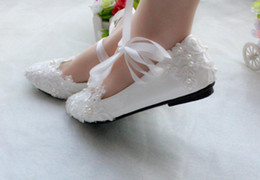 $enCountryForm.capitalKeyWord Australia - Ribbon belt women's shoes with flat sole With low with the bride bridesmaid wedding shoes High heel lady shoes taking pictures