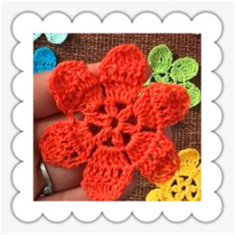 Wholesale 50 zakka fashion china latest products mini real cotton handmade artficial flower for wedding decoration as patches fabirc petals