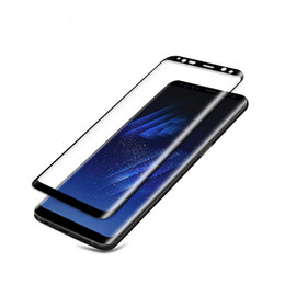 China For Samsung Galaxy Note 8 3D Curved Surface Full Screen Cover Explosion-proof Tempered Glass Full Cover Film For Samsung Note8 suppliers