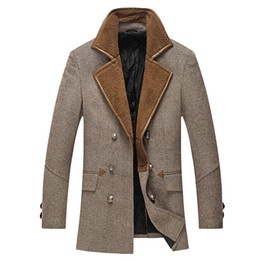 Discount Wool Trench Coat Men Military | 2017 Wool Trench Coat Men ...
