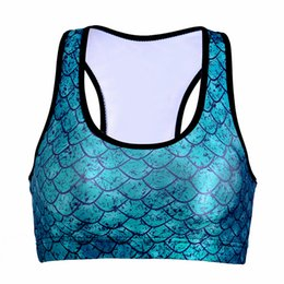 Oeuf 3d Pas Cher-Lady Running Yoga Vest 3D Print Bras Regroupent Fitness Sports Shirt Slim Tights Tank Tops Green Dinosaur Eggs sans manches Vêtements LNSsb