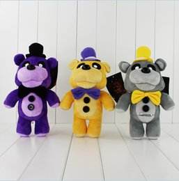 Ems Kid Toys NZ - 29cm Five Nights at Freddy's Teddy Bear Plush Soft Stuffed Doll Toy for kids gift free shipping EMS