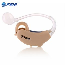 sound voice amplifier hearing aid Canada - Invisible Hearing Aid portable audiometer Digital behind Ear Sound Voice Amplifier Adjustable For Elderly Aids Ear Care S-188