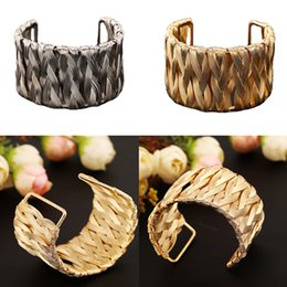 Gothic Christmas Gift NZ - Unisex Gothic Cuff Bracelet Wire Plated Metal Bangles Trendy Bracelet Jewelry Wristband Charms Bracelet Christmas Gift E837L