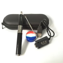 $enCountryForm.capitalKeyWord UK - In Stock original Mini Evolve Wax Vaporizer Pen Evolve-D Dry Herb Starter Kit 650mah eGo Thread Coils Silver Black for wax oil