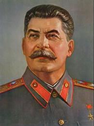 $enCountryForm.capitalKeyWord Australia - SOVIET LEADER JOSEPH STALIN,Genuine Handpainted Leader Portrait Art Oil Painting On High Quality Canvas,in customized size accepted
