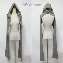 knitted hood scarf NZ - Wholesale-Unique Design Hood Cap Winter Hat Sets Woman, Fashion Cap Headwear, Wool Yarn Knitted Scarves for Women Men Hat and Scarf Set