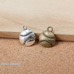 Discount gold baseball pendants gold baseball pendants 2018 on discount gold baseball pendants 75pcs vintage charms baseball pendant fit bracelets necklace diy metal jewelry aloadofball Gallery