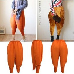 Mode Taille Hip Hop Pas Cher-3 Couleurs Fried Chicken Pants Femmes Haroon Harem Pantalon Lady Plus La Taille Baggy Pantalon Hip-Hop Capris Mode Élastique Pantalon CCA8185 100 pcs