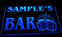 Bars names online shopping - LS589 b Name Personalized Bar Beer Mug Glass Pub Neon Light Sign