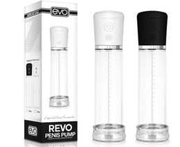 Wholesale EVO Rechargeable Electric Penis Pump Easy Control Automatic Penis Enlargement Pro Extender Sex Toys for Men Sex Products