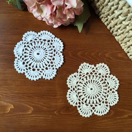 $enCountryForm.capitalKeyWord NZ - 12 PCS IN ~ Delicate design round doilies, hand crocheted doilies for DIY, round lace doily for dream catchers, nice table cup mats zx012