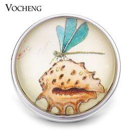 $enCountryForm.capitalKeyWord NZ - VOCHENG NOOSA Wholesale 18mm Interchangeable Dragonfly Button Glass Snap Charm Jewelry Vn-1155