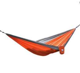 $enCountryForm.capitalKeyWord UK - 2016 best sale High Quality Portable Outdoor Garden Hammock Hang BED Travel Camping Swing Canvas Stripe