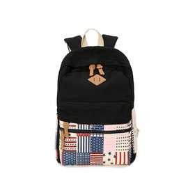 Boy Flap Bag Canada - Best Selling!!! Boys Girls Schoolbag Vintage Shoulder Bag Traveling Sport Backpack Canvas Fashion Flap Bag Black