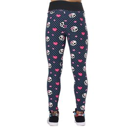 bbe219fd2d2a8 Wholesale- Women Loving Heart Printed Pirate Costume Leggins Pants Digital  Printing Leggings