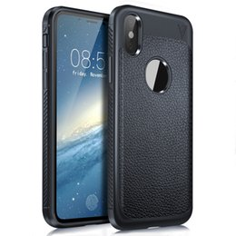 Notes selliNg online shopping - For Iphone X Phone Case New Hot Selling TPU luxury Striae Phone Cover Mobile Cellphone Case For note