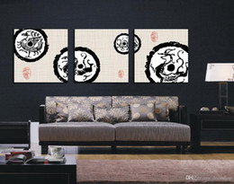 $enCountryForm.capitalKeyWord Canada - Ancient Chinese Dragon Abstract Painting Giclee Print On Canvas Wall Art Home Decoration Set30212