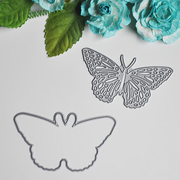 Chinese  Wholesale-Butterfly Metal Cutting Dies for DIY Scrapbooking Card Making Kids Fun Decoration Supplies manufacturers