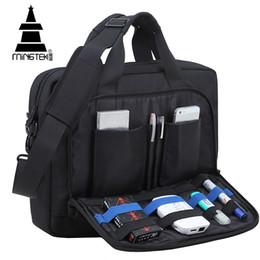 Travel lapTop cases online shopping - Business Travel Laptop Bag Case inch Waterproof Nylon Notebook Sleeve Bag Briefcase Men Women Portable Shoulder Bags