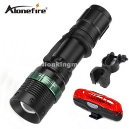 $enCountryForm.capitalKeyWord Canada - E3 CREE tactical cree led Torch Zoom cree LED Flashlight Torch light For 1x 18650 rechargeable+bike light+mounts