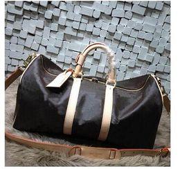 Venta al por mayor de Diseñador de marca Bolsas de viaje bolsa de mensajero Bolsas de asas Bolsas de lona Maletas Equipajes # 40143 # 40144