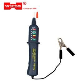 $enCountryForm.capitalKeyWord Australia - DHL 50PCS WHDZ VT15C 12V Car Battery Tester Digital Auto Alternator Analyzer Before Charge Check Diagnostic Tool Voltmeter 6 LED Lights