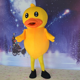 Discount yellow duck costumes - Big yellow duck cartoon mascot costume mascotlove garment factory direct support to private customized direct delivery o