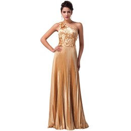 $enCountryForm.capitalKeyWord Canada - 2019 Newest Gold Leaves design One Shoulder Ball Prom Dress Floor Length Long Evening Party dresses Sexy Women Formal Gowns Robe de soiree