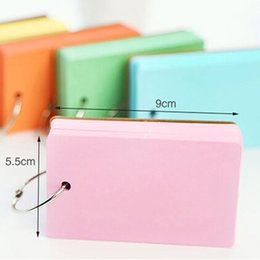$enCountryForm.capitalKeyWord Canada - 4pcs lot Color Pages Mini Memo Pad Notebook Gift Stationery School Office Home Supplies Portable Notepad Papelaria
