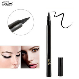 $enCountryForm.capitalKeyWord Canada - Bittb 1pcs Professional Waterproof Eyeliner Pencil Long-lasting Black Eye Liner Pen Thin Lines Cosmetics Quick-dry Makeup