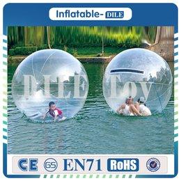 Бесплатная доставка высокое качество 2 м ТПУ воды зорб мяч / ясно надувные ходьба воды мяч, человека Хомяк мяч