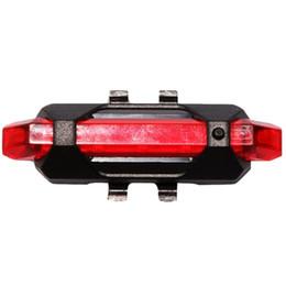 Super mini bikeS online shopping - Super Bright Mini Bike Rear Lights LED Bicycle Helmet Tail Light USB Rechargeable Waterproof Built in Battery