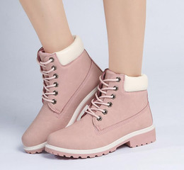 $enCountryForm.capitalKeyWord Canada - sell like hot cakes! Martin female autumn and winter boots, flat boots tooling, flat big shoes, big yards female casual Martin boots, short
