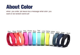 fitbit flex replacement rubber UK - Silicone Replacement Rubber Band with Clasp for Fitbit Flex Bracelet Wrist Strap High Quality 13 Colors new arrival