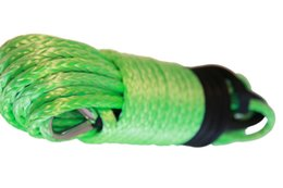 """China Wholesale-Green 1 2""""*100ft Winch Rope for Winch Accessary,Kevlar rope,Plasma Winch Cable for Trailers cheap rope for winch suppliers"""