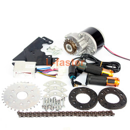 Bicycling Gear Australia - New Arrival 250W Electric Conversion Kit For Common Bike Left Chain Drive Customized For Electric Geared Bicycle Derailleur