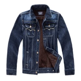 $enCountryForm.capitalKeyWord Canada - New Arrival 2016 Hot Fall Winter Jeans Jacket Men Long Sleeve Cotton Velvet Thick Warm Cowboy Slim Fit Casual Jean Denim Jackets Man MX25
