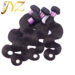 China Big Sale! Top Selling Human Hair body wave brazilian hair weaves Unprocessed Malaysian Peruvian Virgin Human Hair Extensions wholesale 3pcs supplier big inches suppliers