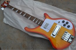 $enCountryForm.capitalKeyWord Canada - Custom RIC 4 Strings Cherry Sunburst 4003 Electric Bass Guitar Chrome Hardware Triangle MOP Fingerboard Inlay Awesome China Guitars