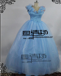 Movie Costume Design Canada - New Design Adult Cinderella Costume for Women Party Dress Cosplay Costume