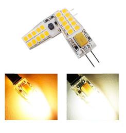 G4 Energy Saving Bulb Australia - Energy-saving Crystal Lamp Bulb G4 2835 SMD 20 LEDs Silicone 360 Beam Angle Crystal Lamp warm white  white 12V Corn Bulb Led Light
