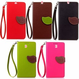 pouches for huawei p8 lite 2019 - Strap Leaf Clasp Flip Wallet Leather Case For Iphone X XS MAX XR 8 7 Plus Huawei P8 lite 2017 Vivo X20 ID Card Stand Mon